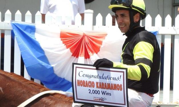 Horacio Karamanos set for weekend return to riding