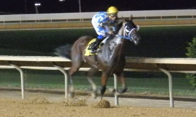 Unrideabull carries his speed in Leavitt triumph