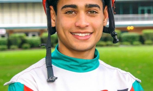 Young jock Franklin Ceballos right on track