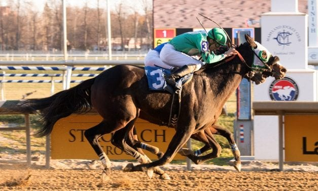 Moon Virginia takes Laurel feature with late surge