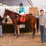 Michael Merryman: First win as trainer continues family tradition