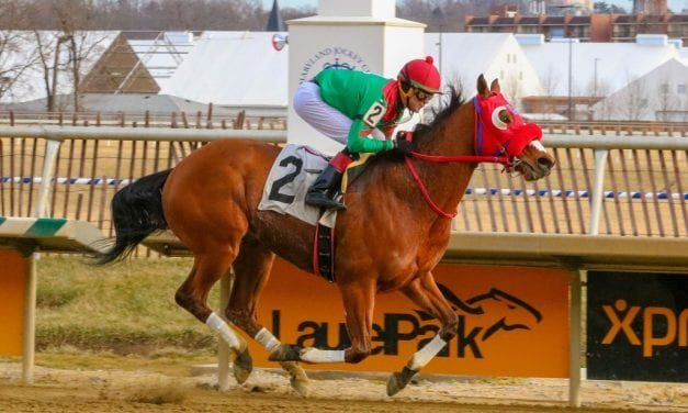 Afleet Willy romps to Native Dancer score