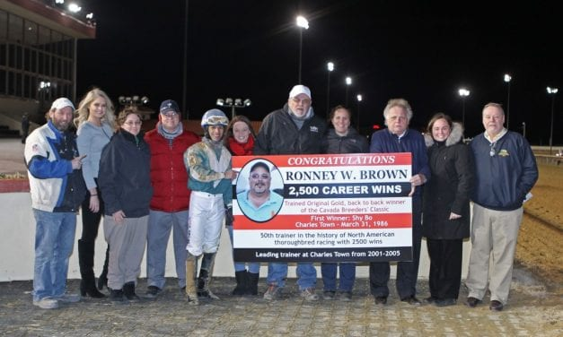 Ronney Brown: 2,500th win begins road to 3,000