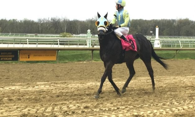 Rocket Heat lives up to name in Laurel allowance win
