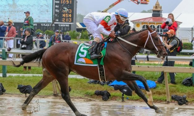 Asmussen, Motion enjoy boffo Preakness day