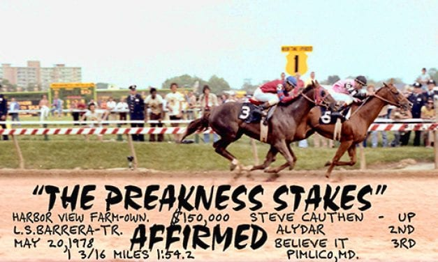 Preakness Past: Affirmed and Alydar