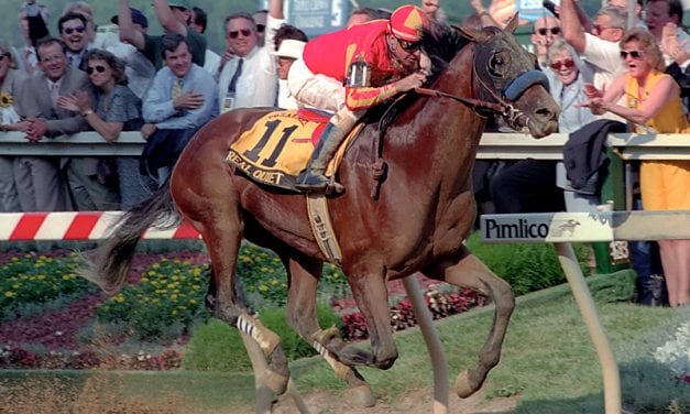 Preakness Past: Taking Real Quiet seriously