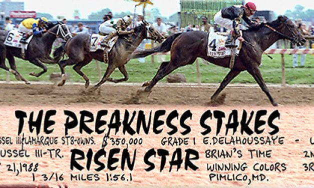 Preakness Past: A Risen Star is born
