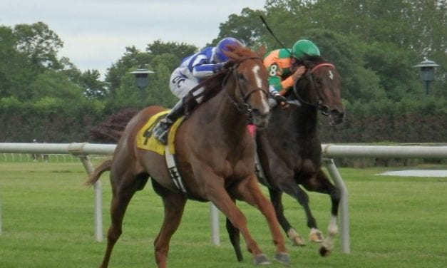 Delaware Park: Frippery takes feature on eventful opening day