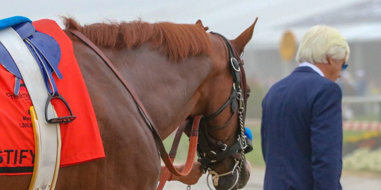 Looking back: Justify at Pimlico