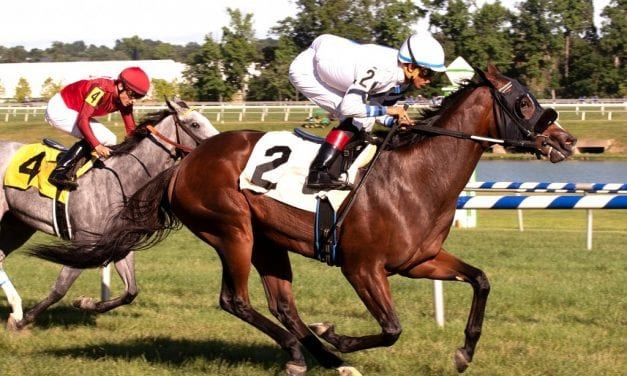 Miz Mayhem, Whereshetoldmetogo flash potential in Laurel stakes wins