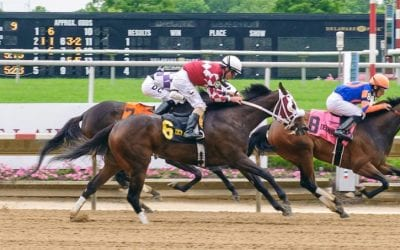 "Servis has double-barreled ""Blue"" for Delaware Oaks"