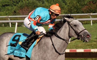 Red Ruby dazzles in G3 Delaware Oaks triumph