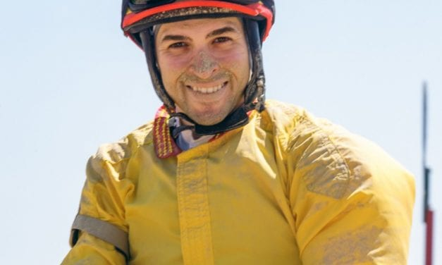 """Delaware Park: Jock Angel Suarez """"trying to make most of second chance"""""""