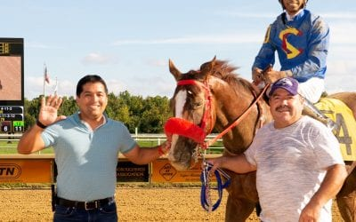 Claudio Gonzalez barn sharp to start Laurel spring