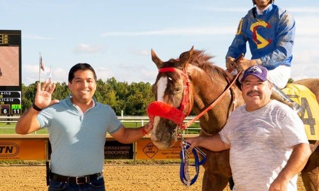 Claudio Gonzalez barn sharp to start Laurel spring