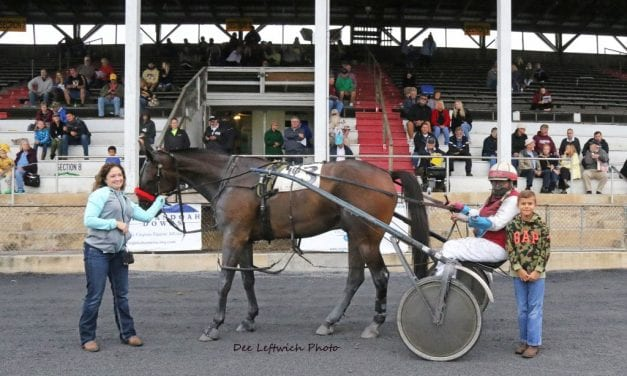 Driver Sam Miller, 84, wins first race in nine years