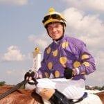 Jockey Serpa returns home after winning in China