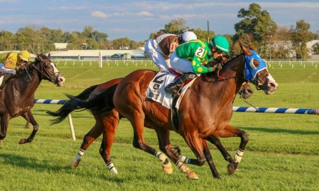 Talk Show Man, two-time Maryland Million winner, retired