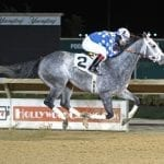 Runnin'toluvya secures third straight stakes win in A Huevo