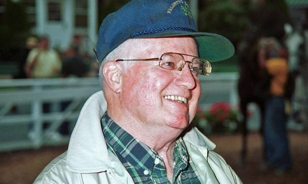 Trainer J. Willard Thompson, 83, passes