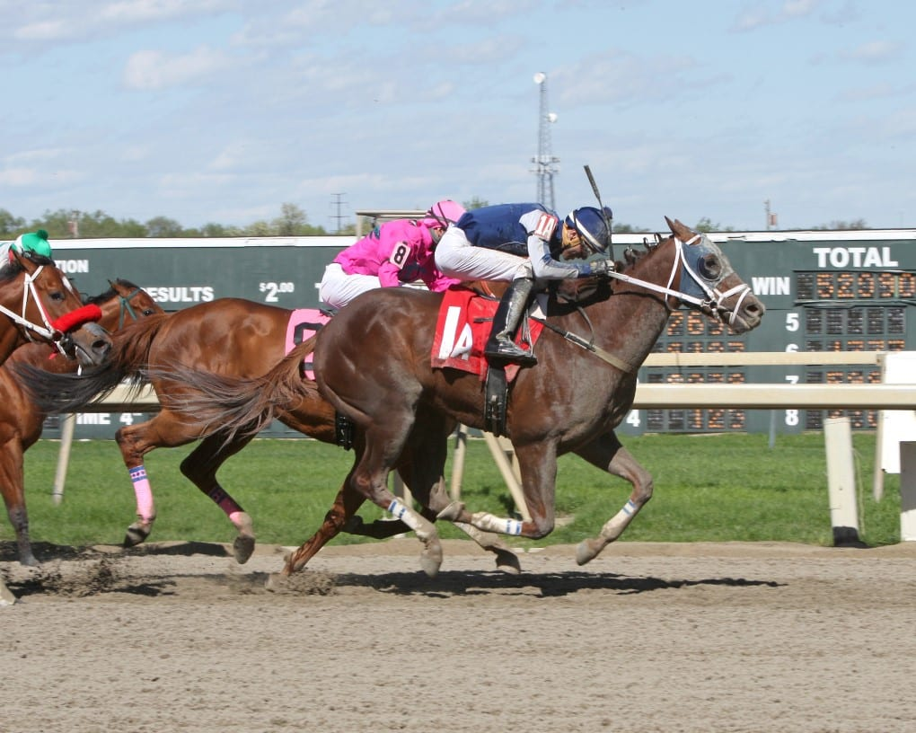 Midnightcharly logs first stake win in Lyman