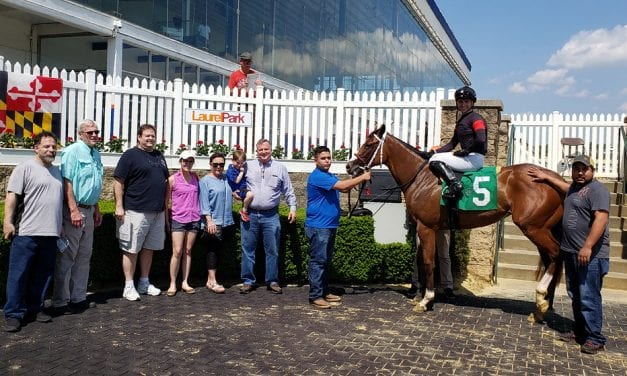 Punk Rock Princess is first winner for Bourbon Courage