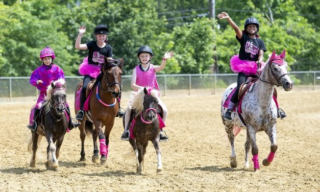 Over 170 riders Canter for the Cause at Pimlico