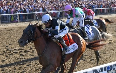 Sir Winston, other Casse horse, upsets G1 Belmont