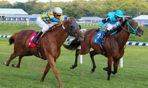 Proudest of all: Pimentel wins three stakes on Md Pride day