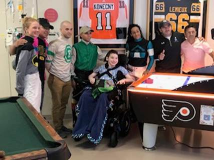 Delaware Park jocks participate in Childhood Cancer Awareness Month