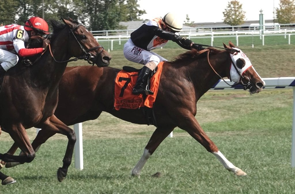 Caribou Club possibly headed to Breeders' Cup after Laurel score