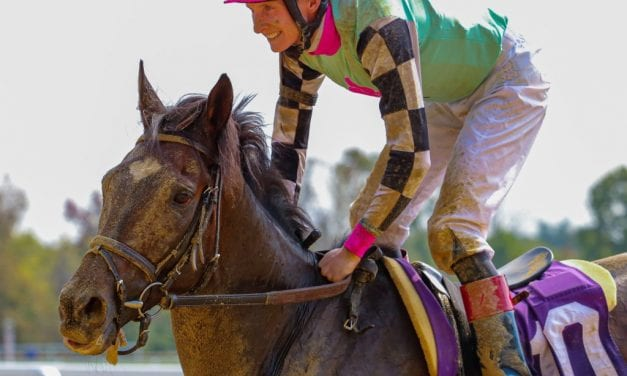 """Any of us could win it"": Local jocks ready for Preakness"