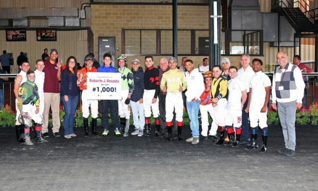 Jockeys Rosado, Lopez enjoy milestone weekends