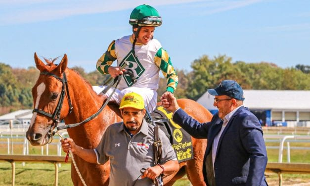 Ournationonparade marches to Md. Million Nursery win