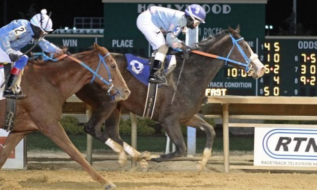 B's Wild Cork bobs to top in My Sister Pearl Stakes