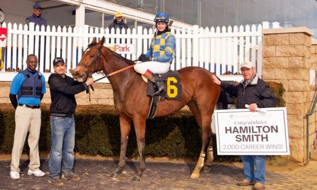 Hamilton Smith earns 2,000th training victory