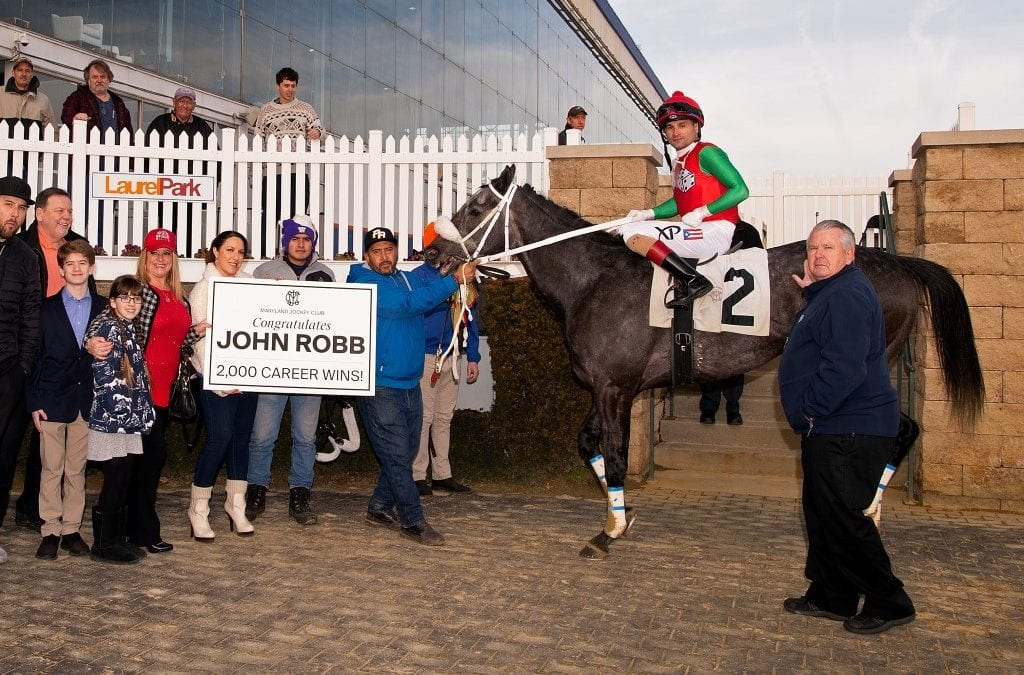 Jerry Robb hits 2,000-win plateau
