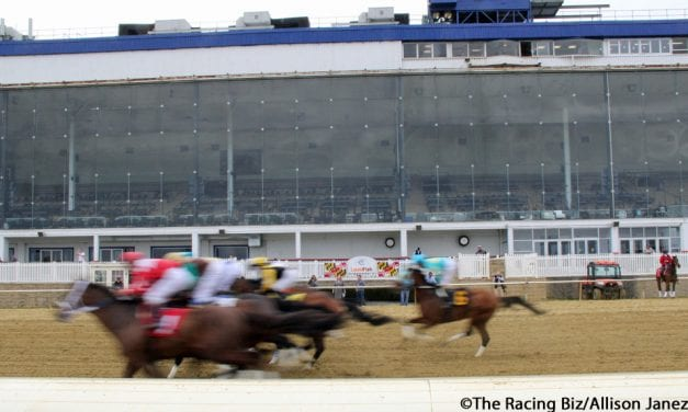 "Laurel Park live racing on hiatus ""until further notice"""