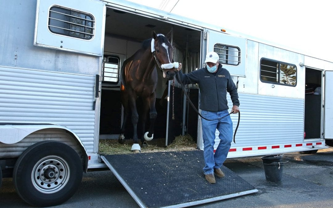Monmouth Park welcomes first to backside