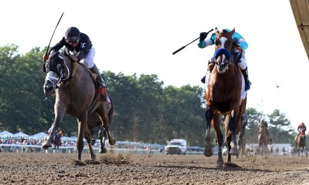 Authentic gives Baffert ninth Haskell win