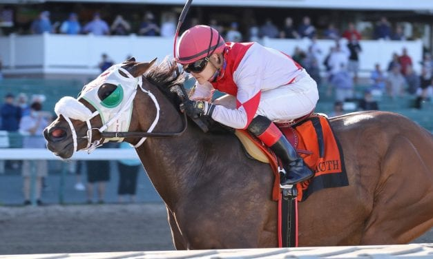 Jock Ferrin Peterson gets first career stakes win aboard Share the Ride