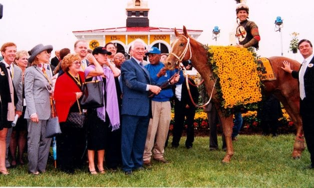 Preakness Memories: The late-blooming Red Bullet