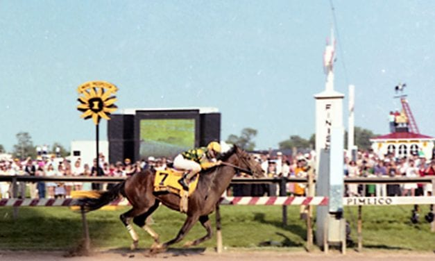 Preakness Memories: The courageous Summer Squall
