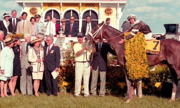 Preakness Memories: Timber Country rallies