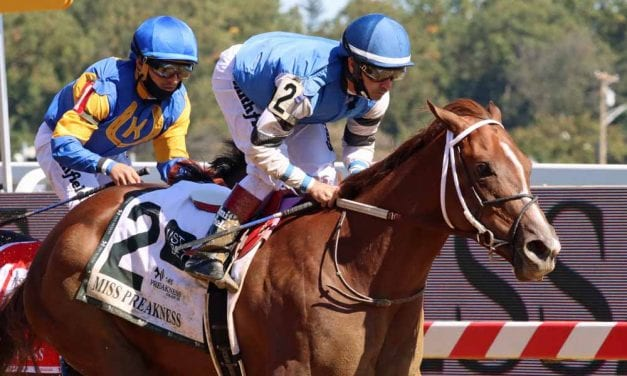 Wicked Whisper silences rivals in Miss Preakness