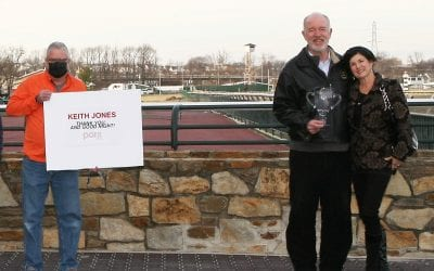 Parx: Keith Jones calls final race