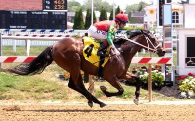 Two-year-old winners featured at Delaware Park