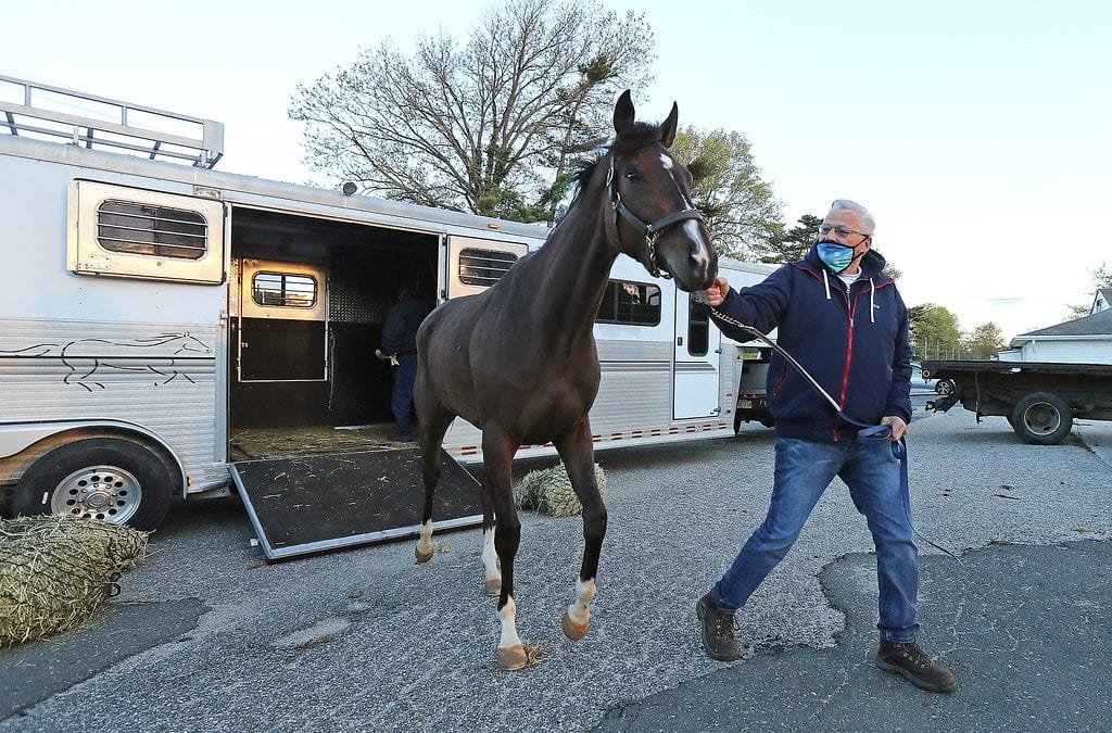 Monmouth Park sees first arrivals