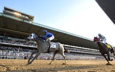 Essential Quality earns Belmont triumph